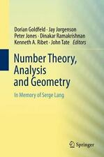 Number Theory, Analysis and Geometry : In Memory of Serge Lang (2014, Paperback)