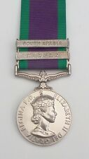Full Size General Service Medal 1962 GSM with South Arabia & Radfan Clasps