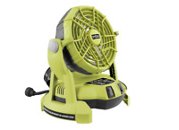 Ryobi One+ 18V Portable Misting Fan - Skin Only - 2 speed settings