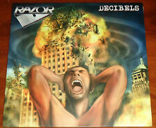 Razor - Decibels LP / Black Vinyl (2011) Thrash Metal