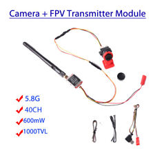5.8G FPV Transmitter Module TS5828 40CH SMA + 1000TVL Camera For RC Racing Drone