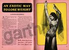 BELLY DANCING 1975 AN EXOTIC WAY TO LOSE WEIGHT PICTORIAL * SORAYA