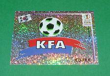 N°242 BADGE KOREA COREE PANINI FOOTBALL JAPAN KOREA 2002 COUPE MONDE FIFA