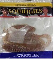 SQUIDGIES Wriggler 100mm Bloodworm Wriggler Soft Plastic Bream Squidgy New