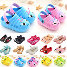 Toddler Kids Boys Girls Summer Beach Sandals Soft Sole Foam Jelly Shoes Slip On