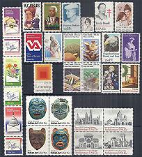 US 1980 Commemorative Year Set of 31, 1803-1843 Strip, Blocks, Singles - MNH *