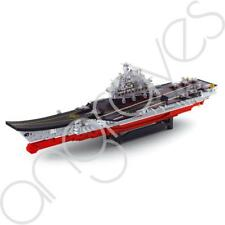 Navy Aircraft Carrier War Ship Boat Building Bricks Gift Set Scale 1:350 1875 Pc