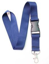 lot 50pc navy blue neck Lanyard Detachable Keychain Camera Strap Badge ID holder