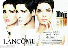 PUBLICITE ADVERTISING 096  2012  Lancome (2p maquillage fond de teint