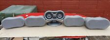 Sony SS-MS835 Silver Colour Front Rear Surround Sound Home Cinema Loud Speakers