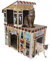 New Hyde & EEK! Boutique Deluxe Haunted Hotel House Cat Scratcher Halloween 2020