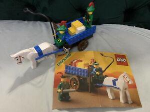 Lego 1877 Castle Forestmen Crusader's Cart Vintage!