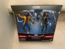 """Marvel Legends Series 6"""" Jacketed Homecoming Spider-Man & MJ 2-pack"""