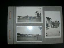WW1-Australian photo album 19 photos &1 bank note, planes,Light Horse, Meredith
