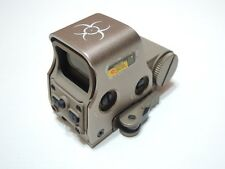 Zombie Stopper Tan Red Green Dot Tactical 556 Rifle Scope Sight