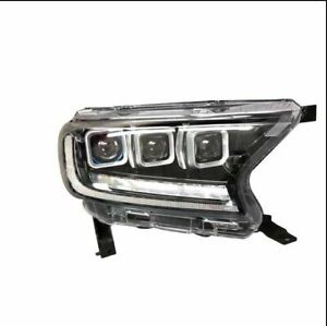 Bugatti Style Sequential Turn Signal Headlight suits FORD EVEREST 2015+