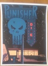 Mondo Poster Print The Punisher By Declan Shalvey