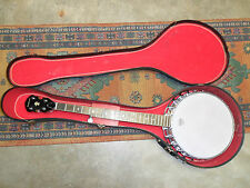 Vintage Washburn 5 String Banjo W/ Case Excellent Condition No Reserve NR