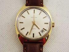 orologio zenith Sporto manuale anni 60 acciaio e placcato oro