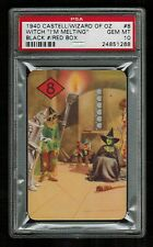 PSA 10 THE WIZARD OF OZ 1940 Castell Brothers #8 (Black Number/Red Box)