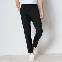 Elvine Mens Hermansson 173206 Slim Trousers Navy Size 36W