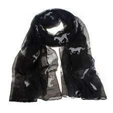 """Western Cowgirl ~Horse Scarf/Shawl/Wrap~  39"""" X 71"""""""