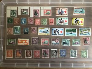 St Vincent stamps unchecked collection MINT/USED