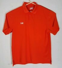 Under Armour Heat Gear Mens T Shirt Athletic Orange Size large