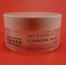 VERSED Day Dissolve Cleansing Balm - 0.6 oz / 19g Jar - New & Factory Sealed Can