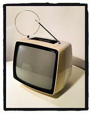 TELEVISORE  TV Vintage ULTRAVOX 17 Pollici B/N Anni 70'  Bianco