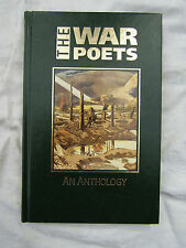 BOOK THE WAR POETS AN ANTHOLOGY this is a great near mint book