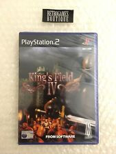 KING'S FIELD IV PS2 Playstation 2 PAL ITA / UK - Nuovo SIGILLATO