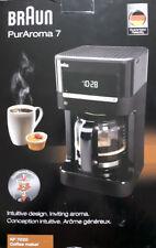 Braun KF7020 Kaffeemaschine PurAroma 7 schwarz gebraucht & in Originalverpackung