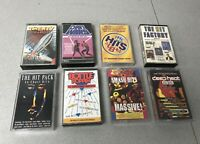 8 x  Greatest Hits Compilation Audio Cassette Tape Albums Smash Hits Chart Wars