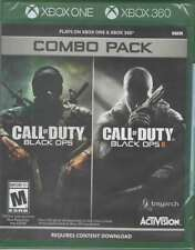 Call of Duty: Black Ops 1 & 2 Combo Pack X360/Xbox One New Xbox One