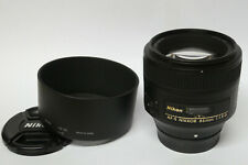 Nikon AF-S Nikkor 1,8 / 85 mm G  Objektiv gebraucht in ovp