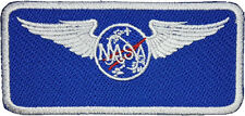 Nasa Blank Name Patch Embroidered Badge Sew / iron on 10cm