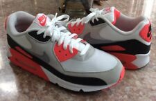 e5f07adb6e379c Nike Air Max 90 Men s Black Red Gray Basketball Shoes Size 11  325018-107