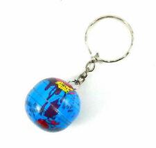 Metal Globe Key Ring World Map Party Bag Filler Pocket Money Toy Keyring Chain