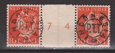 Sumatra 43  INDONESIA PTT 221z pair MLH Japanse bezetting Japanese occupation