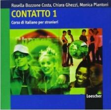 Contatto 1: Class Audio CDs (2) (A1-A2), Italian byLoescher [Like New]