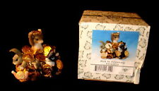 """""""Rich in Friendship"""" - Charming Tails Collectible #97/25 - Mouse with Friends"""