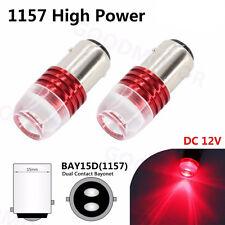 2Pcs 1157 BAY15D 1154 2057 2357 2397 LED Bulb for Car Tail Stop Brake Light Red