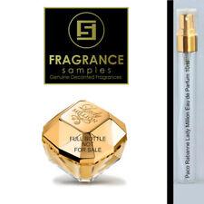 10ml Glass *Jumbo SAMPLE*180 sprays of Lady Million by Paco Rabanne EDP Perfume