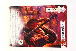 Legend of the Five Rings LCG Yogo Hiroue Scorpion Clan Promo (U-B3S2 231005)