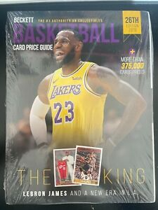 Beckett Basketball Card Price Guide 26th 2019 Edition Yearly LEBRON (sealed new)