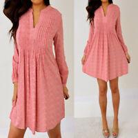 OLD NAVY Mauve Pink Burgundy Long Sleeve Short Mini Dress XS Extra Small