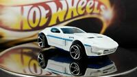 Hot Wheels Mystery Cars Ford Shelby GR-1 Concept Pearl White and Blue Side Lines