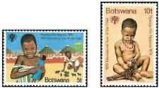 Timbres Enfance Botswana 389/90 ** lot 27719