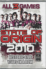 NRL - State Of Origin: 2010 - All 3 Games (3 DVD Set)